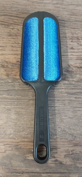Handbürste 4 Felder Blau